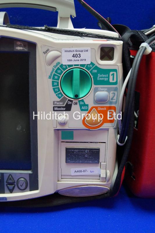 Philips Heartstart MRX Defibrillator with ECG Lead | SN